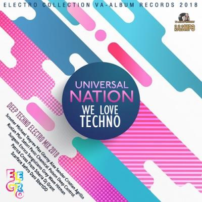 Universal Nation: Techno Ultimix (2018)